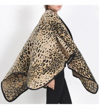 Futurino Womens Winter Leopard Blanket in Fashion Scarves