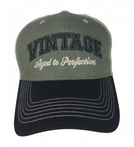 Vintage Aged to Perfection - Hat for Retirees Dads Boss Co-Workers Party - CS12N5IGHMX