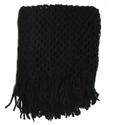DRY77 Knitted Fishnet Eternity Infinity in Fashion Scarves