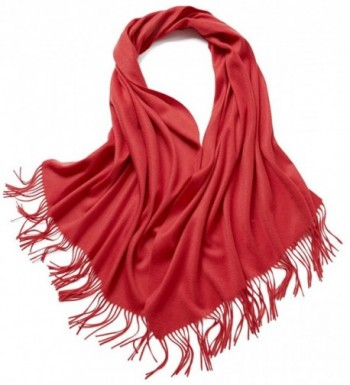 Super Cashmere Blanket Tassel Womens in Fashion Scarves