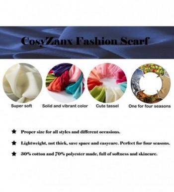 CosyZanx Women Lightweight Fashion Colors in Wraps & Pashminas