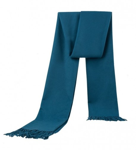 Ysiop Men Women Scarf Warm Shawls and Wraps for Autumn Winter - Cowboy Blue - CN12MAJ8LHU