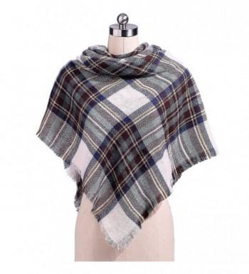 Womens Fashion Square Winter Lattice