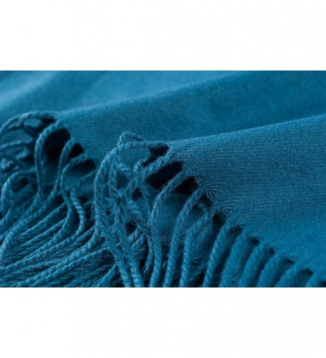 Ysiop Winter Cotton Cashmere Blue in Fashion Scarves