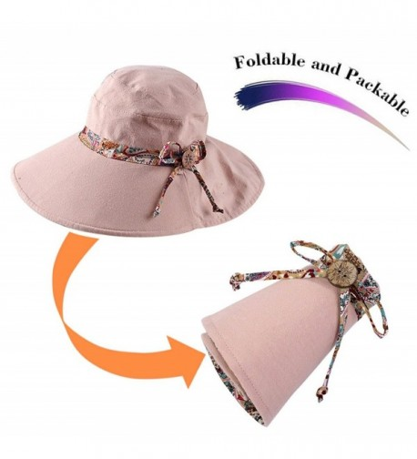 HindaWi Women Packable Protection Beach in Women's Sun Hats