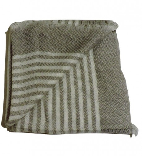 Water Gypsy Trendy Fashion Plaid Scarf Oversized Blanket Shawl for Winter - White and Gray - C2186QZEK9D