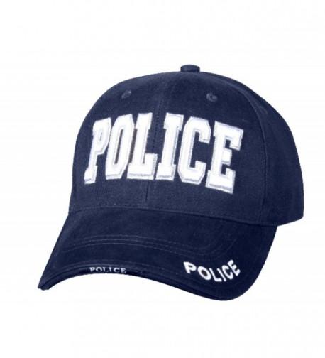 Police - Law Enforcement- Baseball Cap Hat- 3D Embroidery- 100% Cotton - C412N2KZQVM