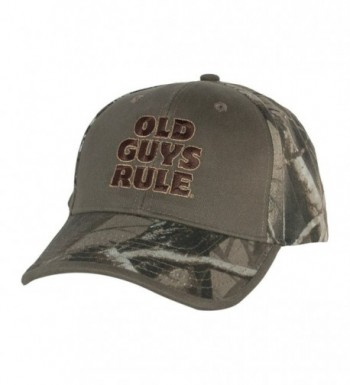 Old Guys Rule Mens Bucks Trucks & Ducks Hat One Size Camo - CX1271DLPQD