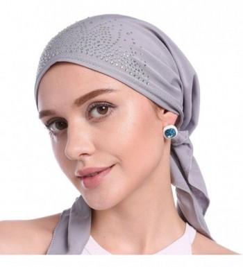 Womens Beanie Turban Headwear Patients in Women's Skullies & Beanies